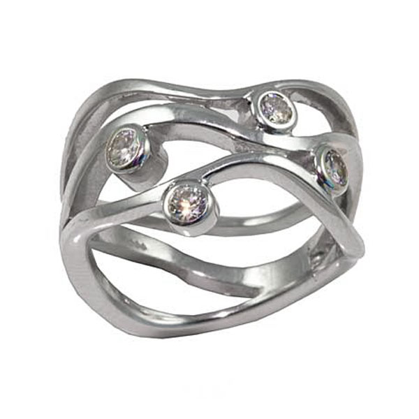 Contemporary Remodeled Diamond Ring