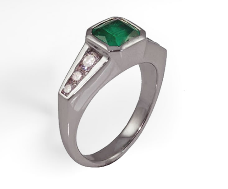 platinum-emerald-diamond-ring